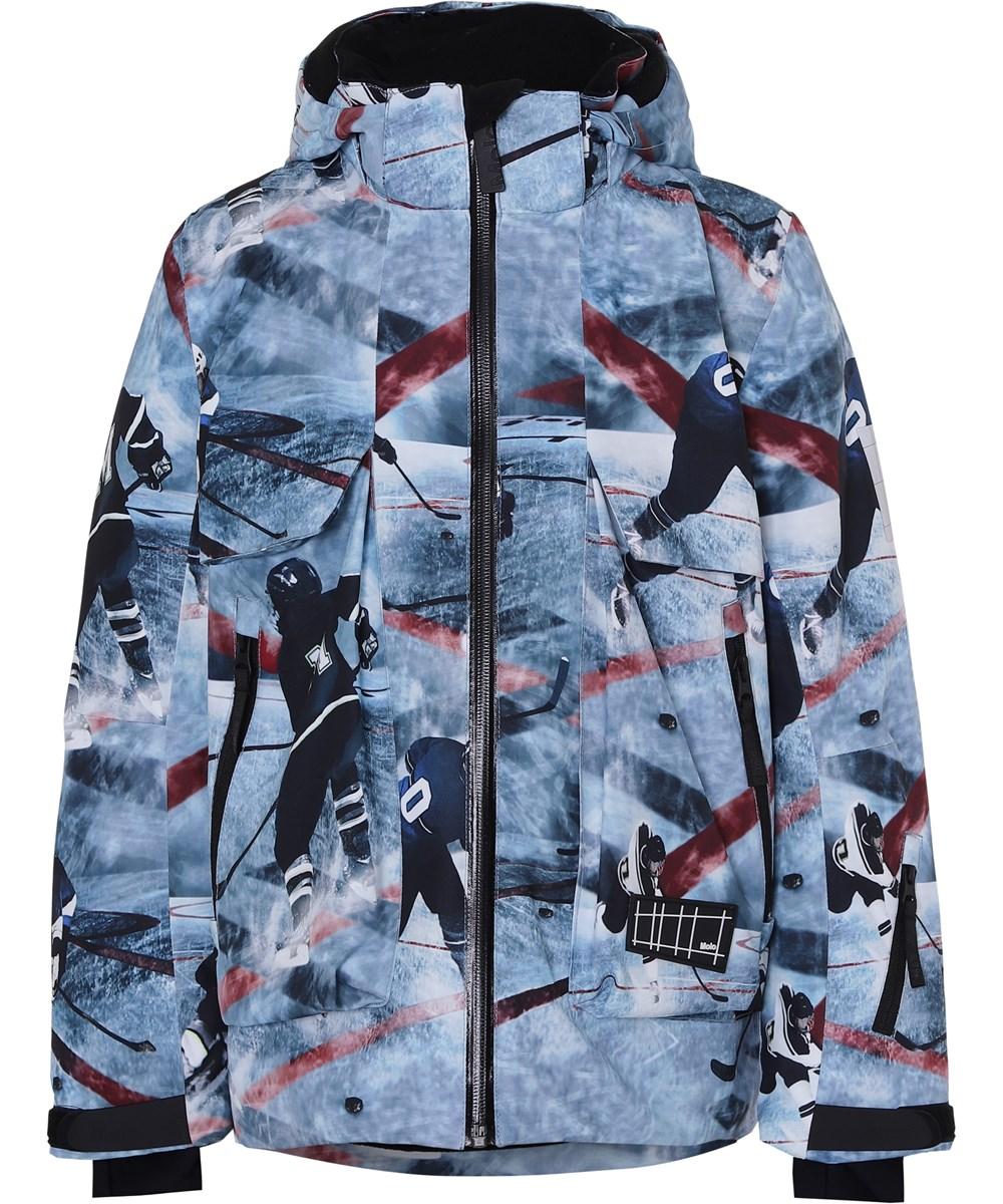 Alpine - Ice Hockey - Waterproof ski jacket ice hockey print
