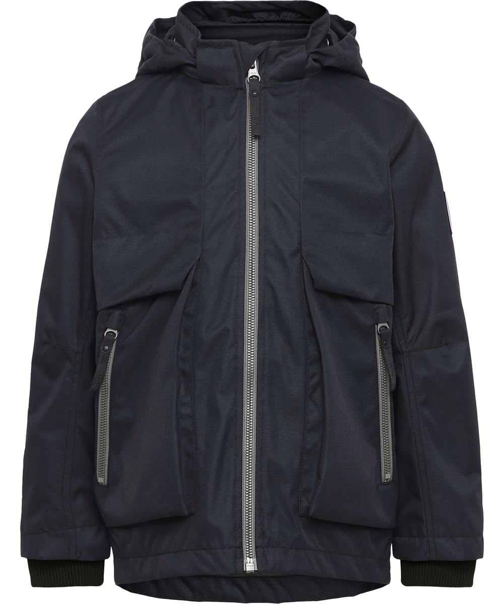 Casper - Black - Water resistent black jacket