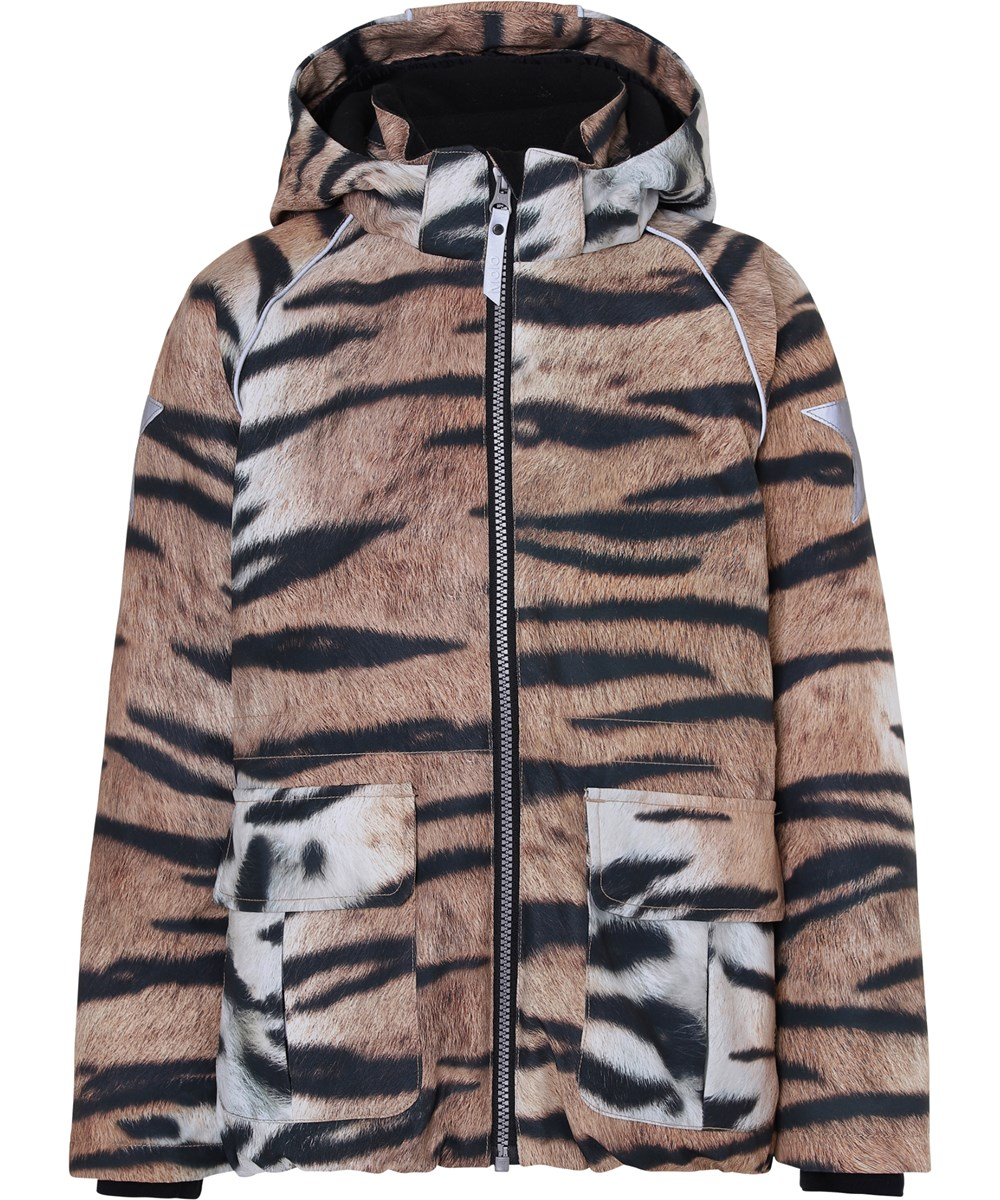 Cathy - Wild Tiger - Waterproof tiger winter jacket