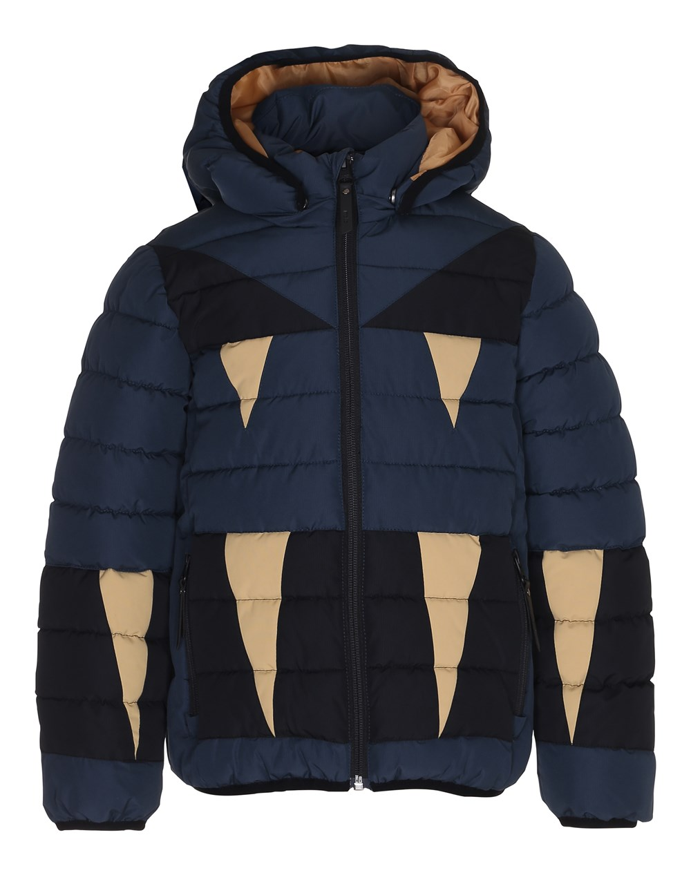 Hackett - Midnight Navy - Blue winter jacekt with reflectors