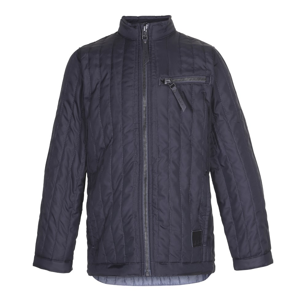 Haemon - Almost Black - Simple black jacket with summer down