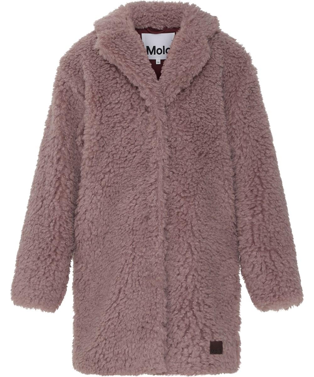 Haili - Star Dust - Rose teddy coat.