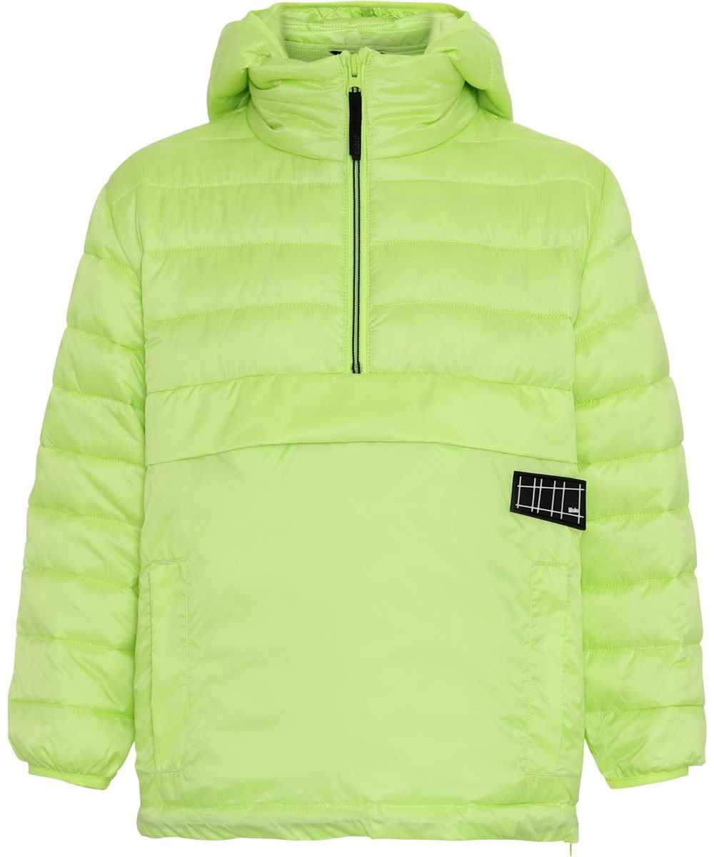 Hakan - Acid Lime - Neon green winter anorak