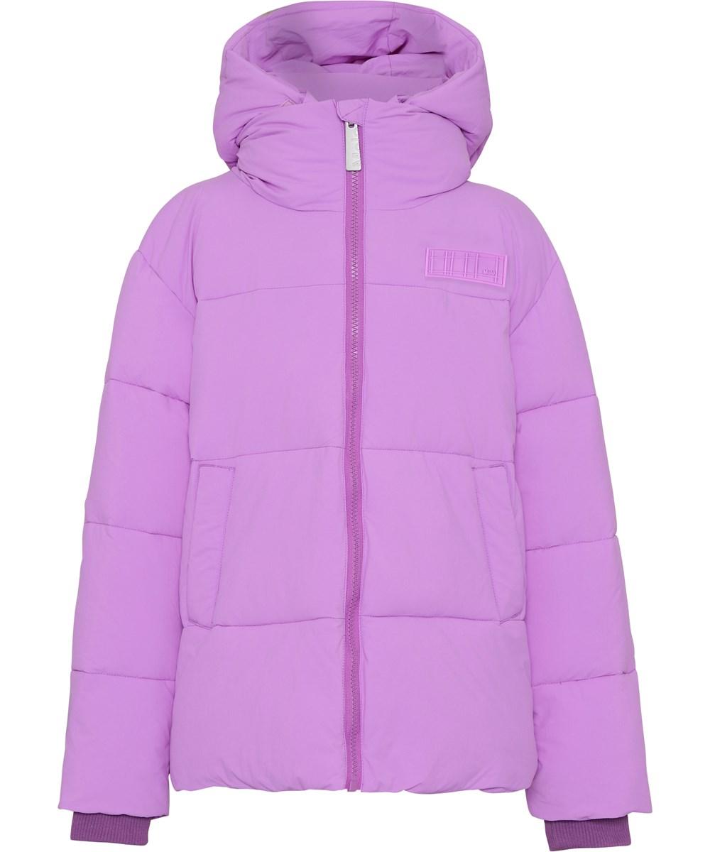 Halo - Acid Purple - Recycled purple down winter jacket