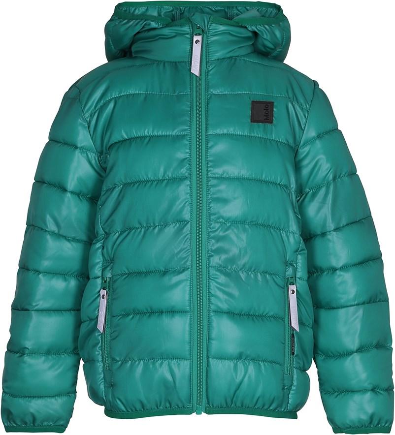 fef67c545de Hao - Bright Green - Sporty, green down jacket - Molo