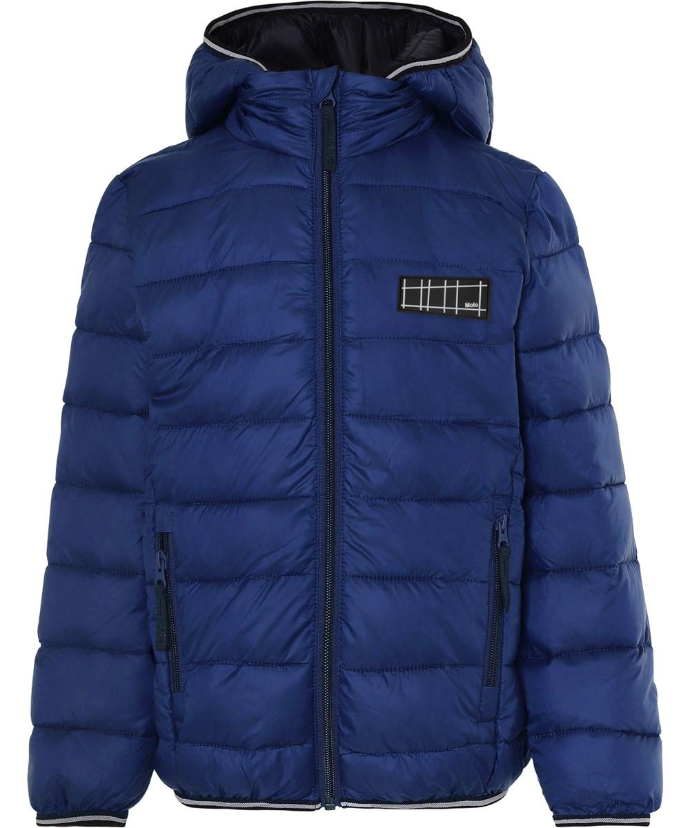 Hao - Ink Blue - Blue winter down jacket
