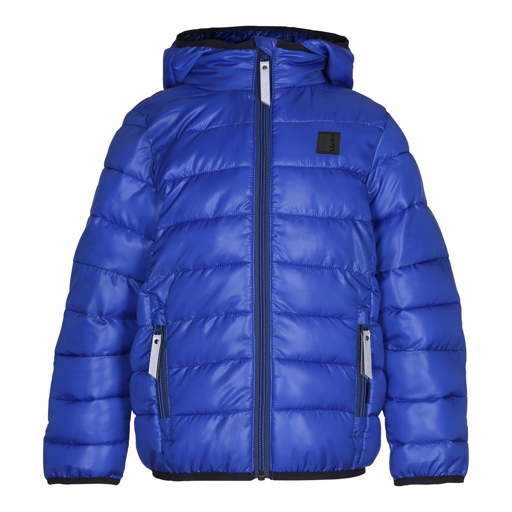 Hao - Real Blue - Sporty, blue down jacket