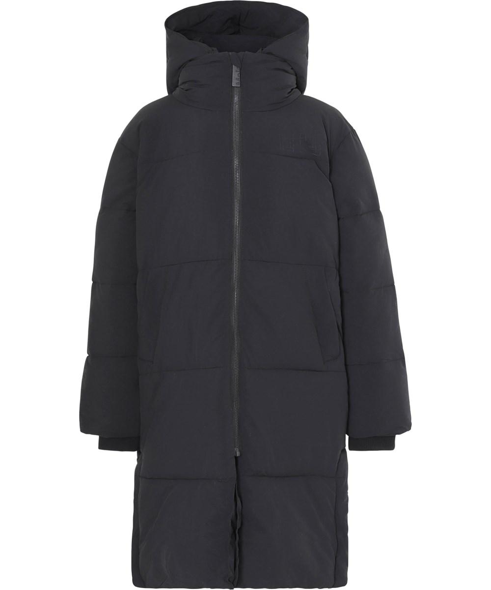Harper - Black - Recycled black down coat
