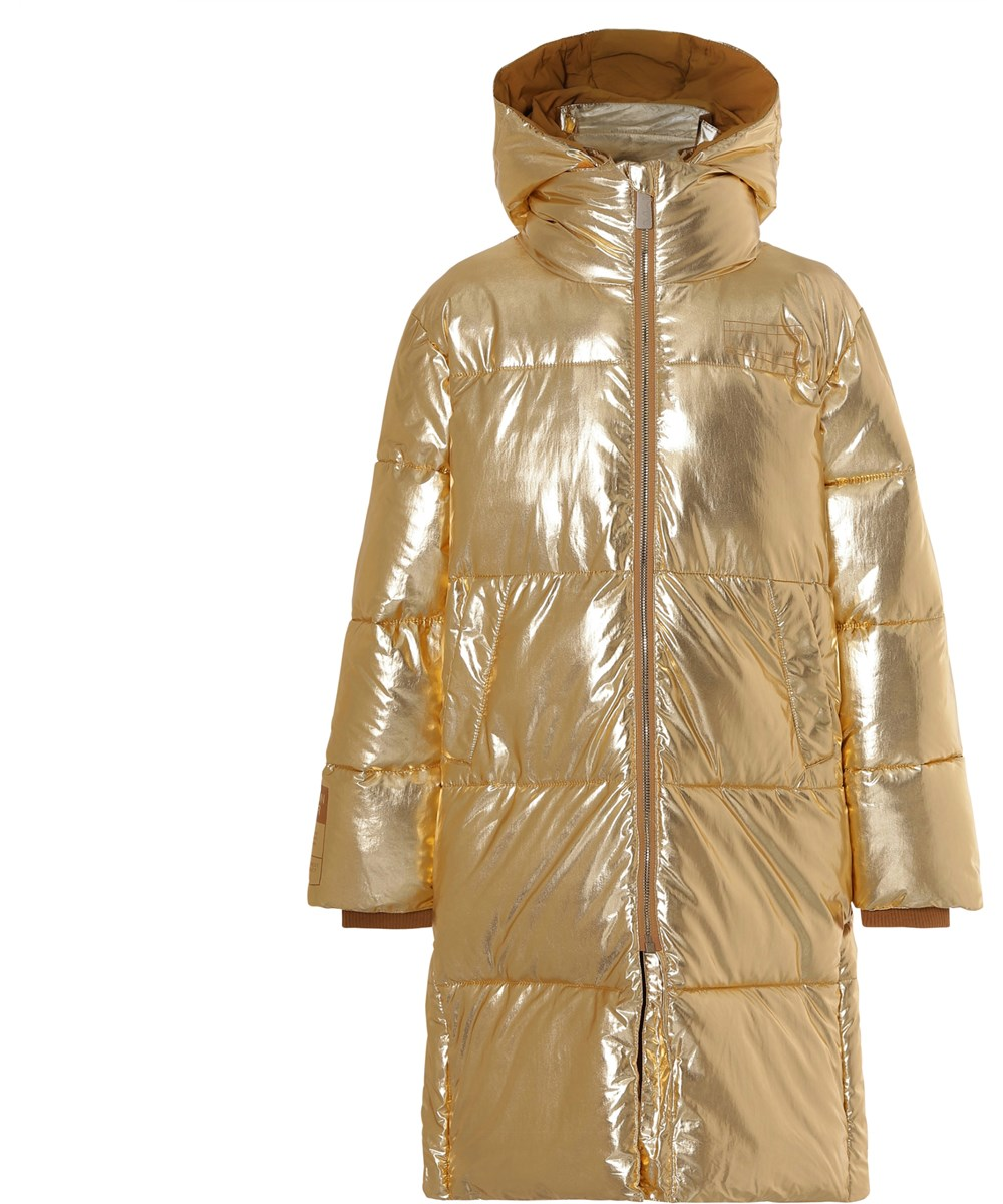 Harper - Golden - Gold down coat