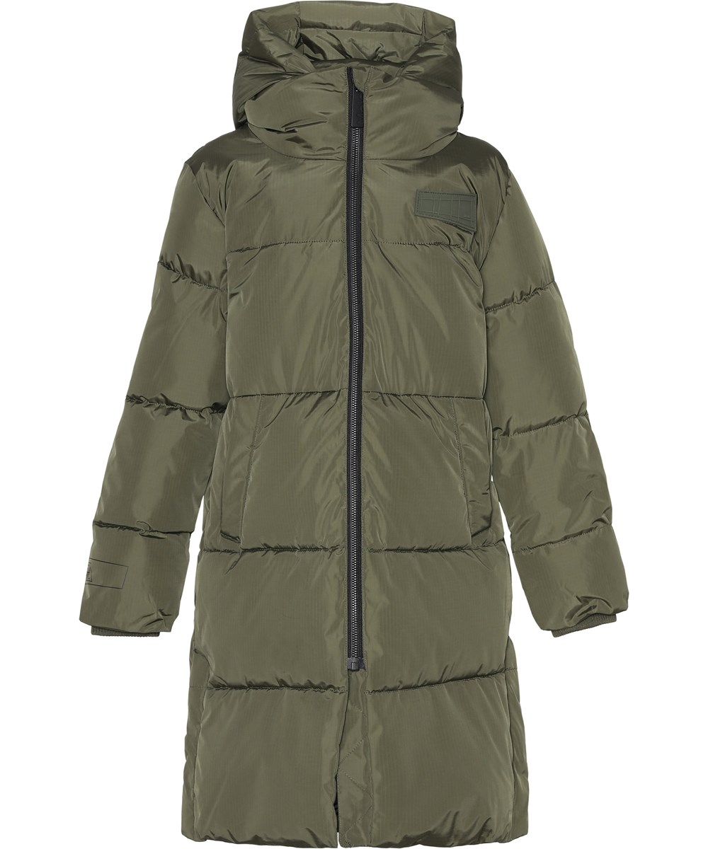 Harper - Vegetation - Warm, green recycled warm coat