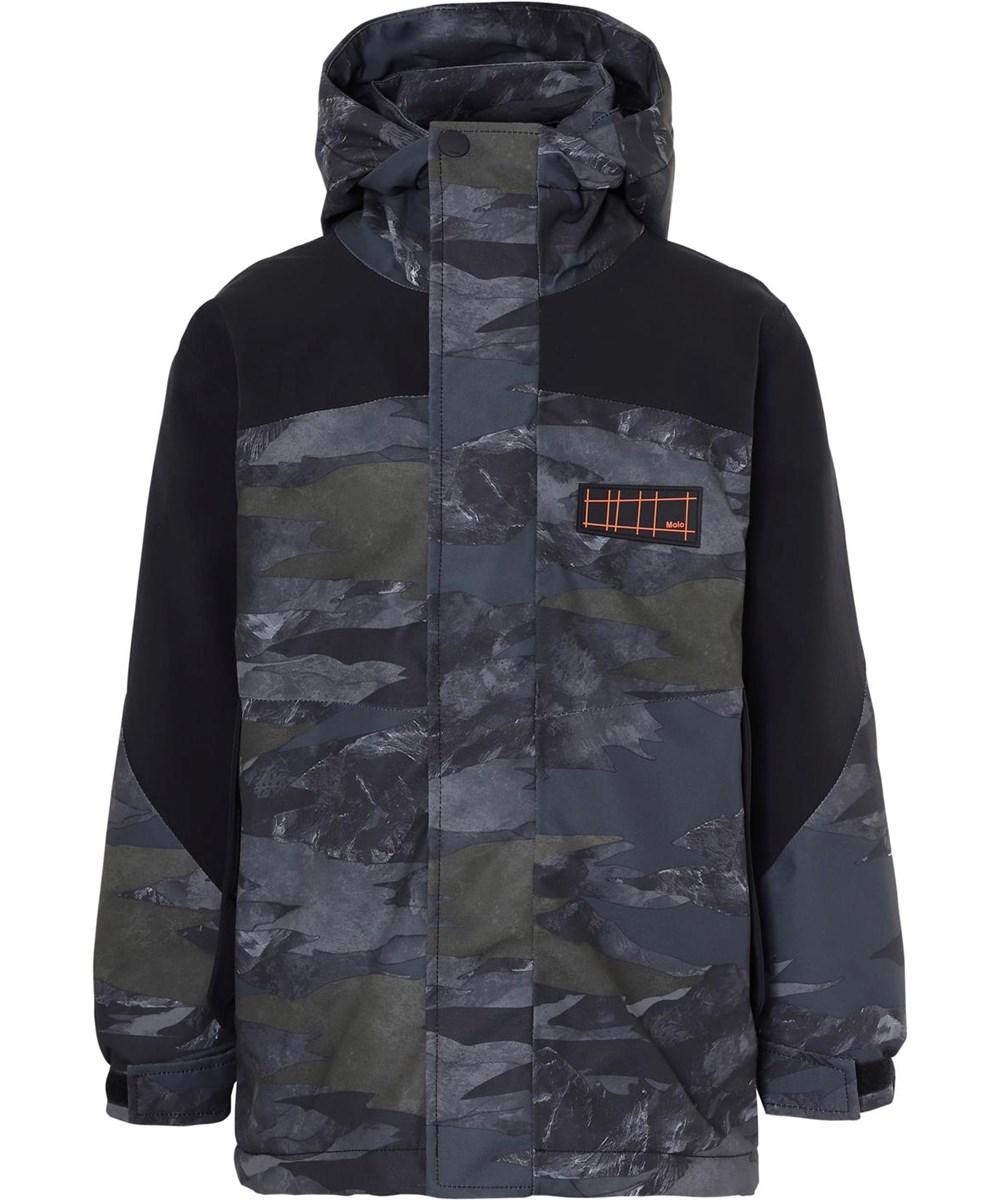 Harrison - Mountain Camo - Waterproof winter jacket in camouflage