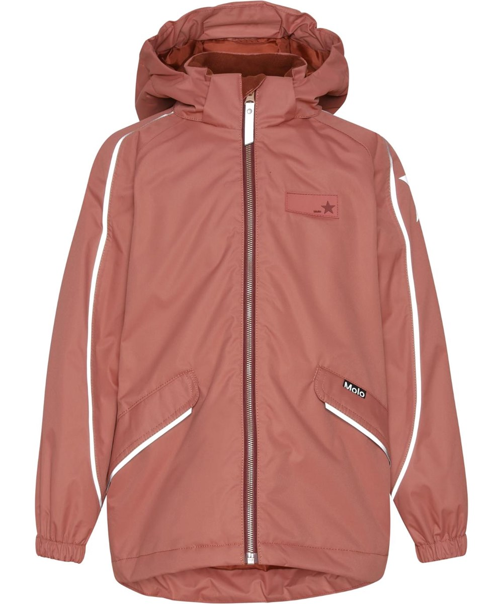 Heiko - Maple - Recycled unisex jacket in rose