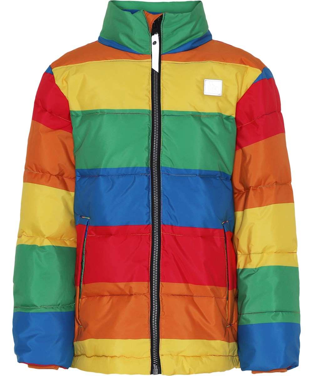 Heino - Big Rainbow - Jacket in rainbow colours.