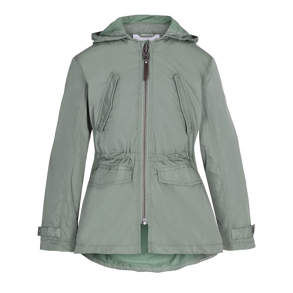 Helene - Sea Spray - Green parka jacket