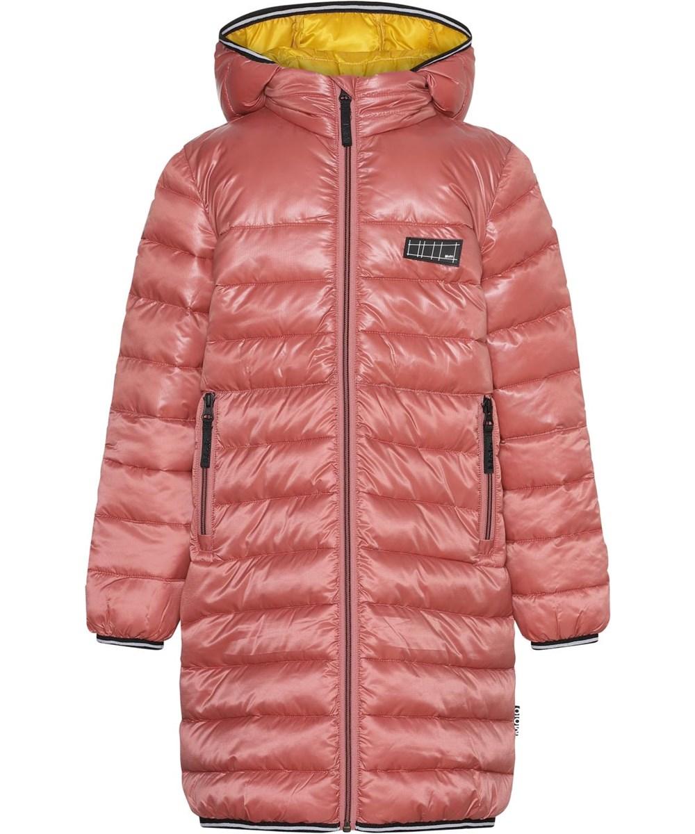 Helin - Maple - Long down coat in rose