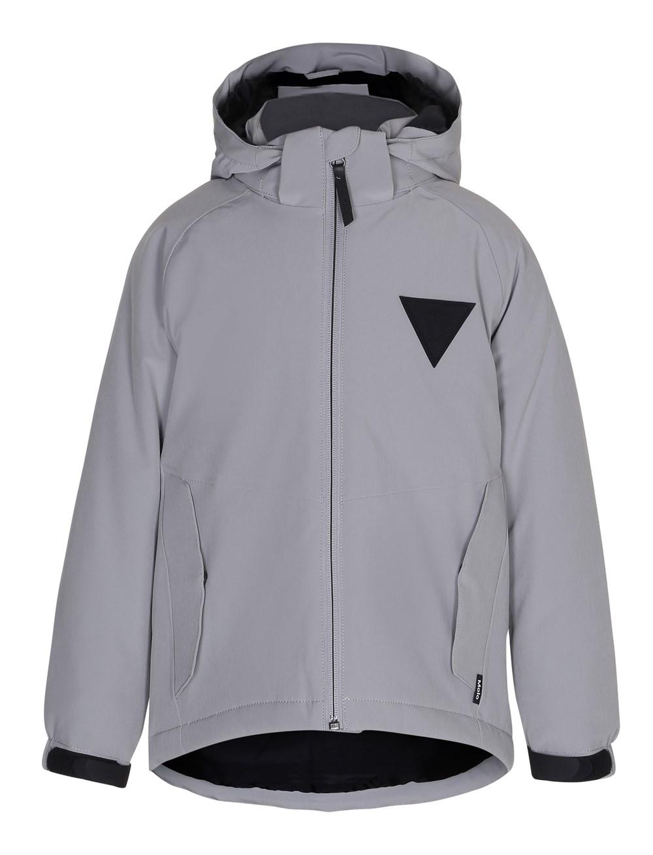 Heman - Neutral Gray - Grey jacket with star reflector