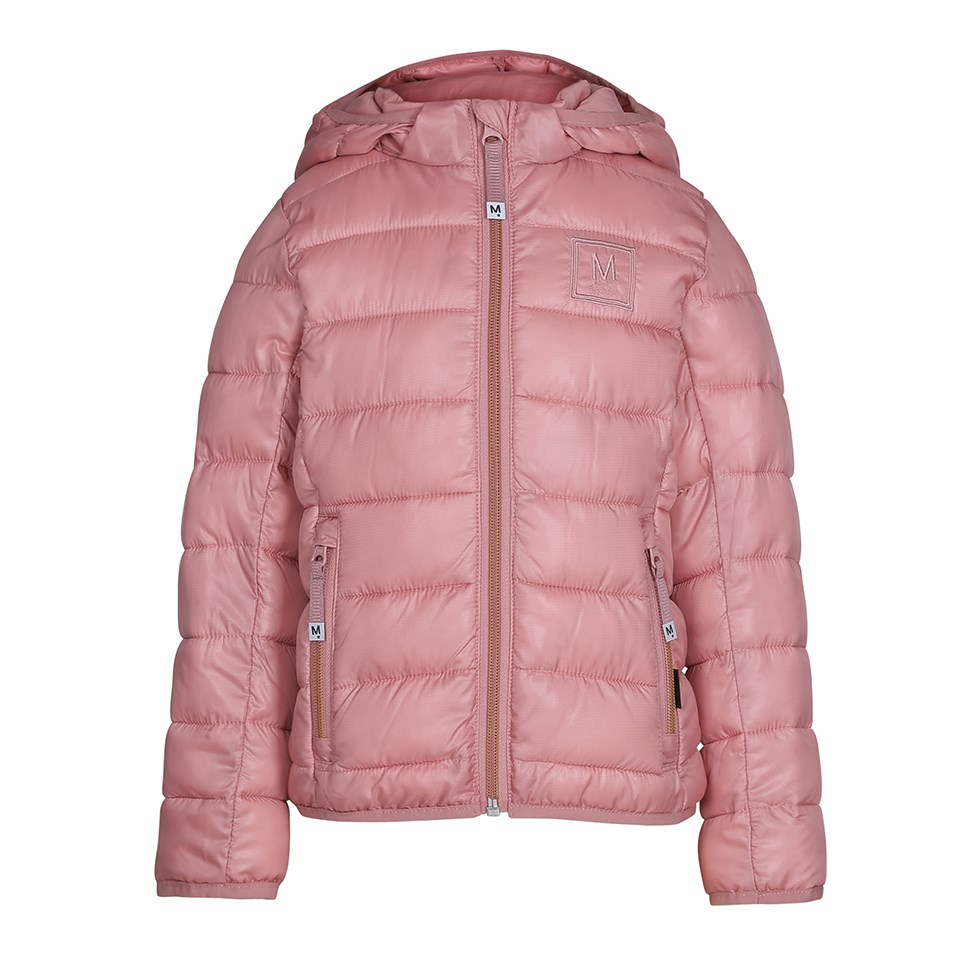 Herb - Ash Rose - Sporty, rose coloured down jacket