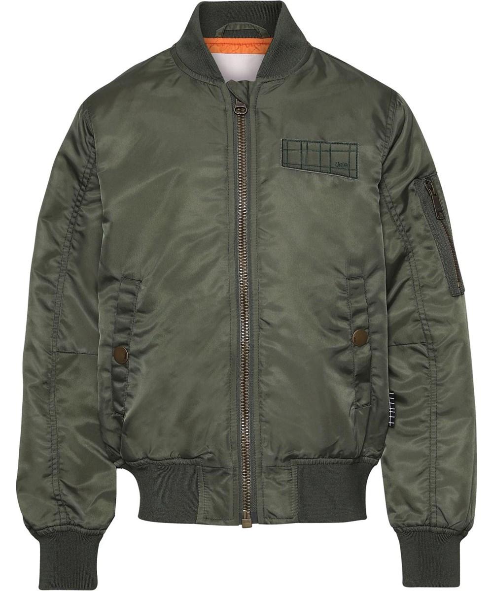 Hiker - Eden - Sporty green bomber jacket