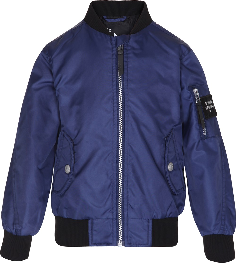 Hiker - Escape Blue - blue bomber jacket