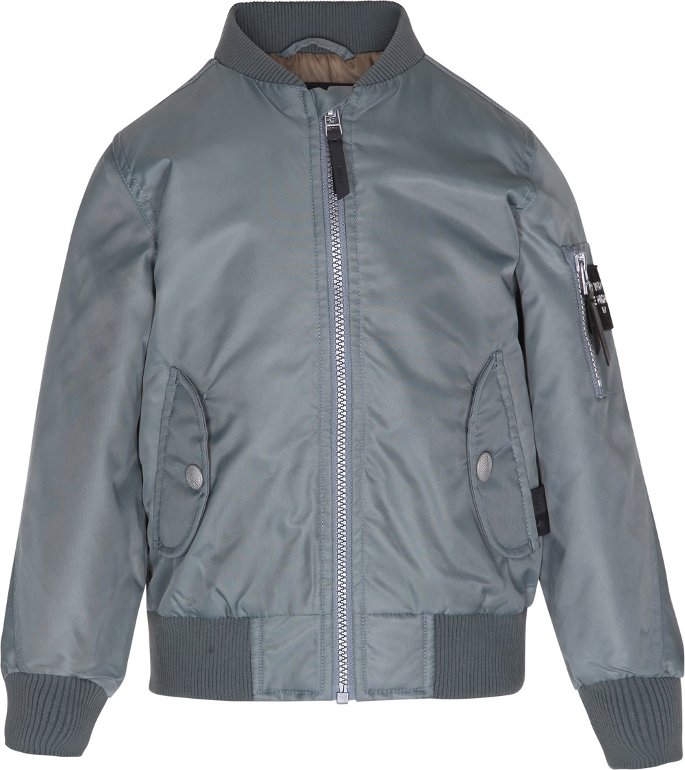 Hiker - Metal Green - metallic green bomber jacket