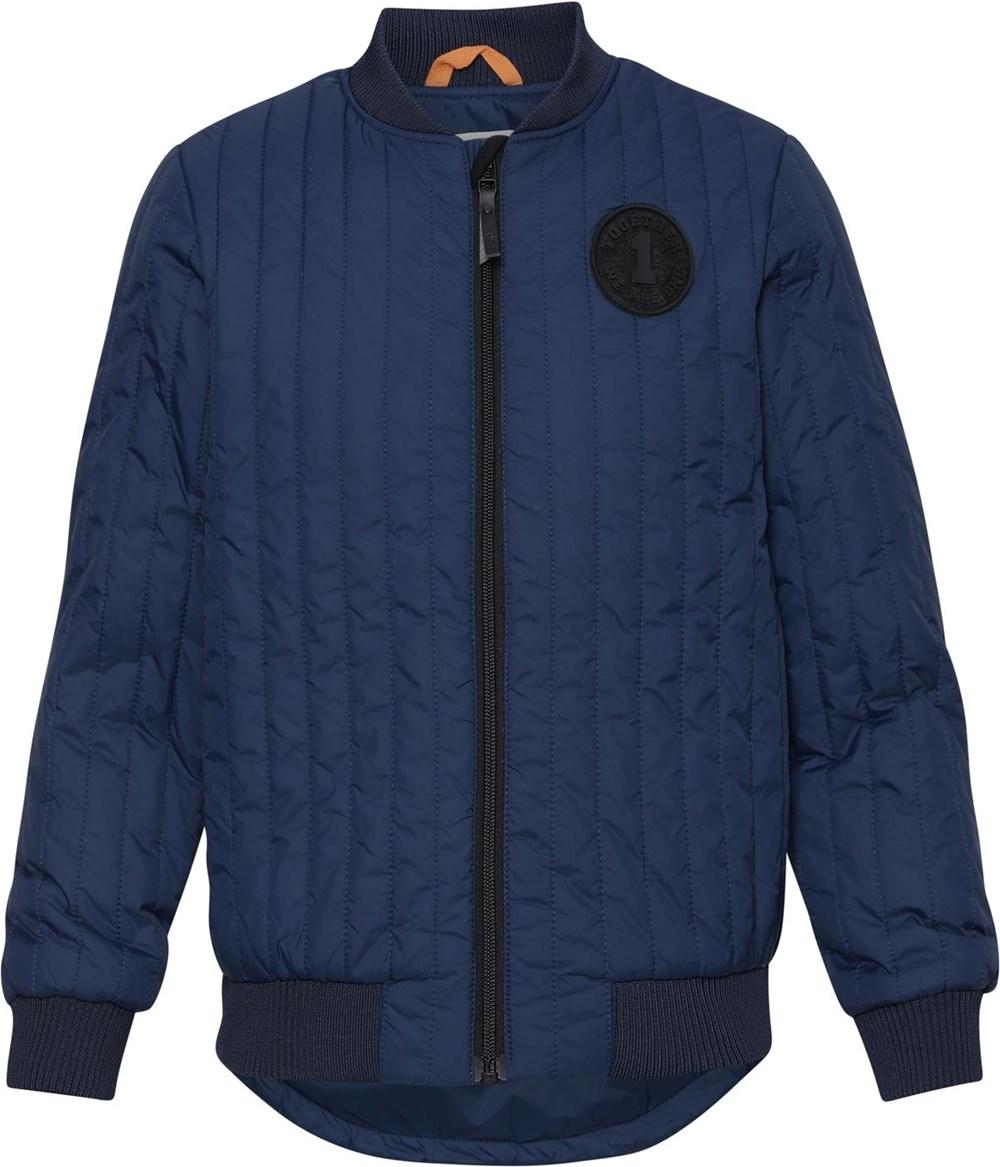 Hudson - Moonlit Ocean - Dark blue quilted jacket