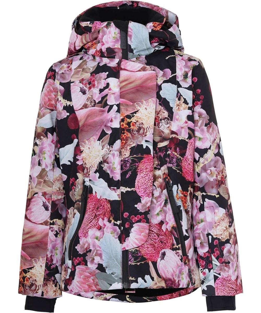 Pearson - Bouquet - Waterproof ski jacket floral print