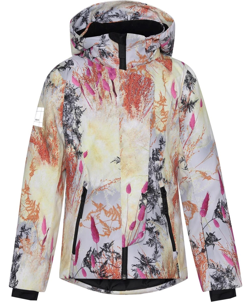 Pearson - Eternal Flowers - Recycled ski jacket with a print of branches