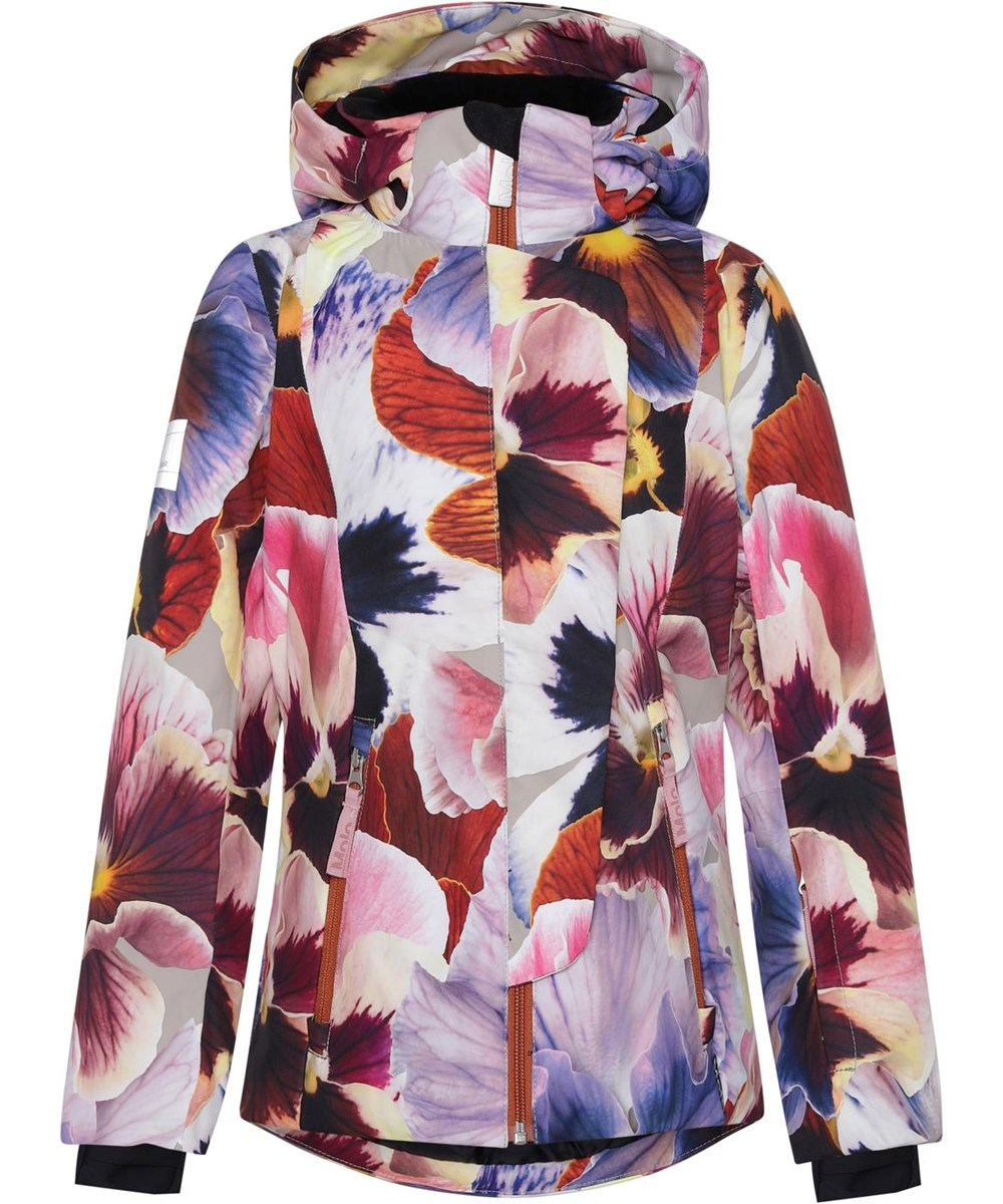 Pearson - Giant Floral - Recycled ski jacket with flower print