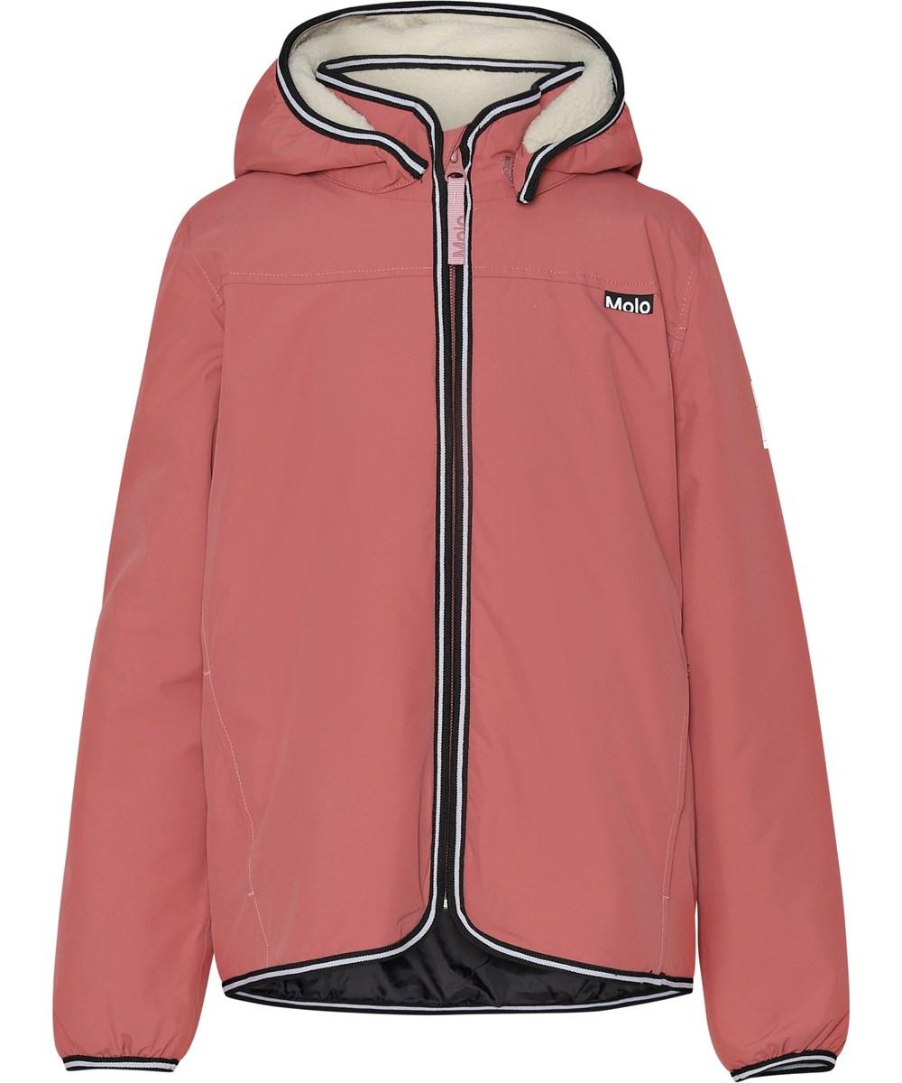 Winner - Maple - Red lined, waterproof jacket