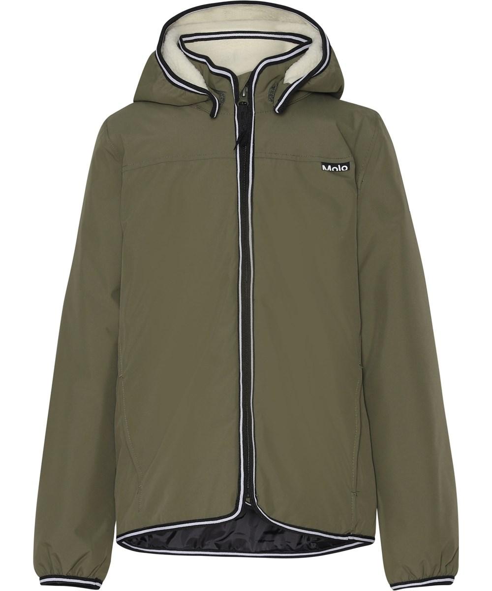 Winner - Vegetation - Green lined, waterproof jacket