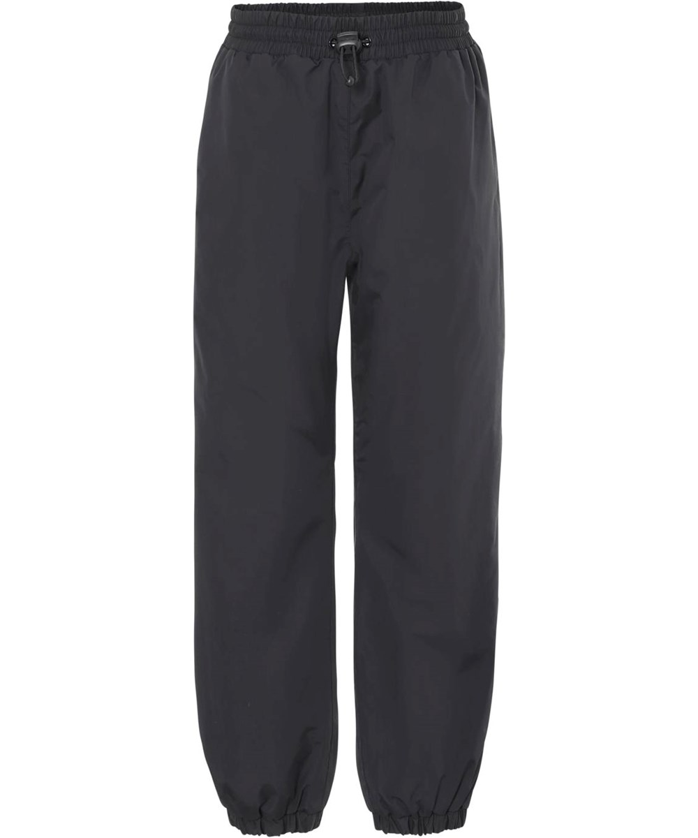 Heat Basic - Black - Wind and waterproof rain trousers