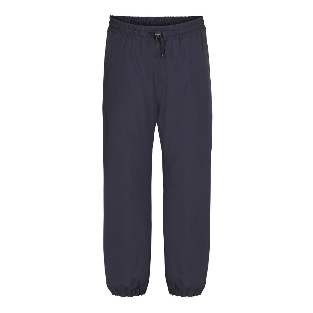 Heat Basic - Very Black - Black rain trousers with lining