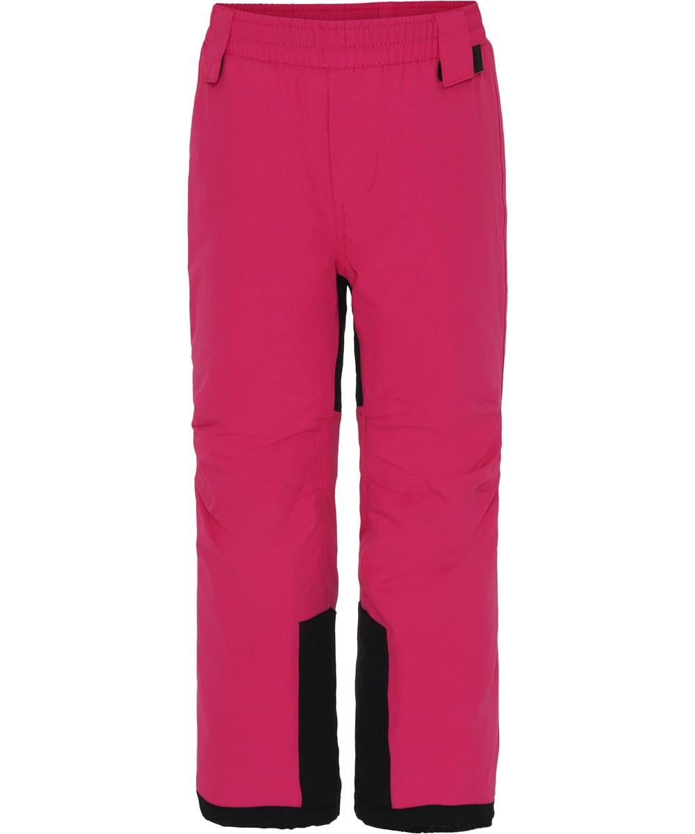 Hush - Bright Pink - Pink ski trousers.