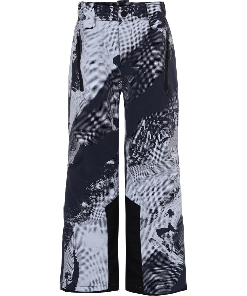 Jump pro - 2 Tones - Waterproof ski trousers with snowboarder