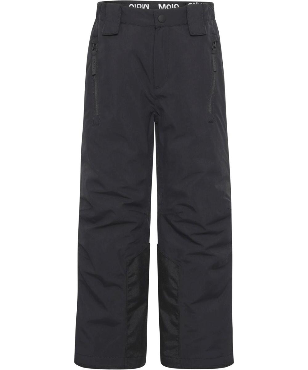 Jump Pro - Black - Black recycled waterproof ski trousers