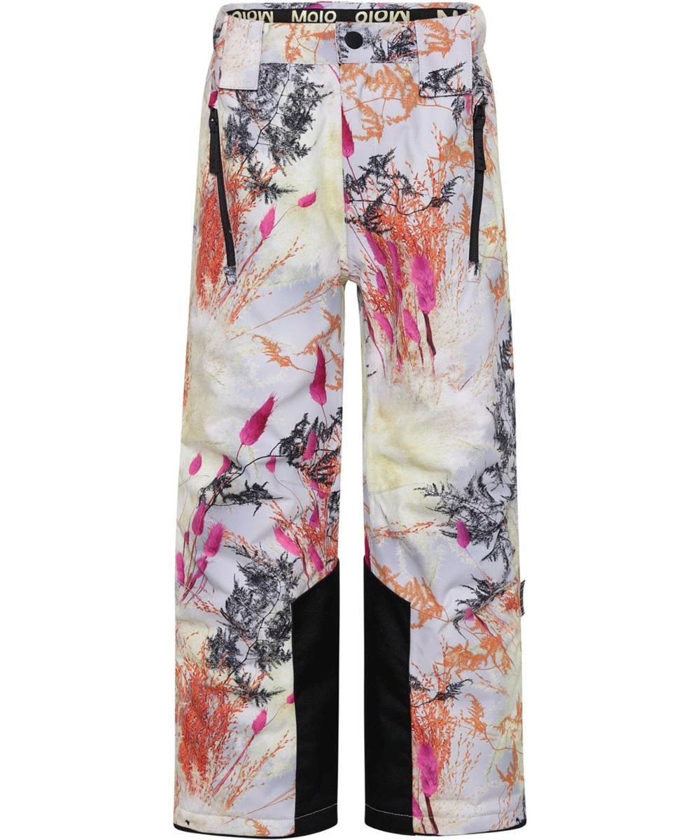 Jump Pro - Eternal Flowers - Recycled ski trousers with print of branches