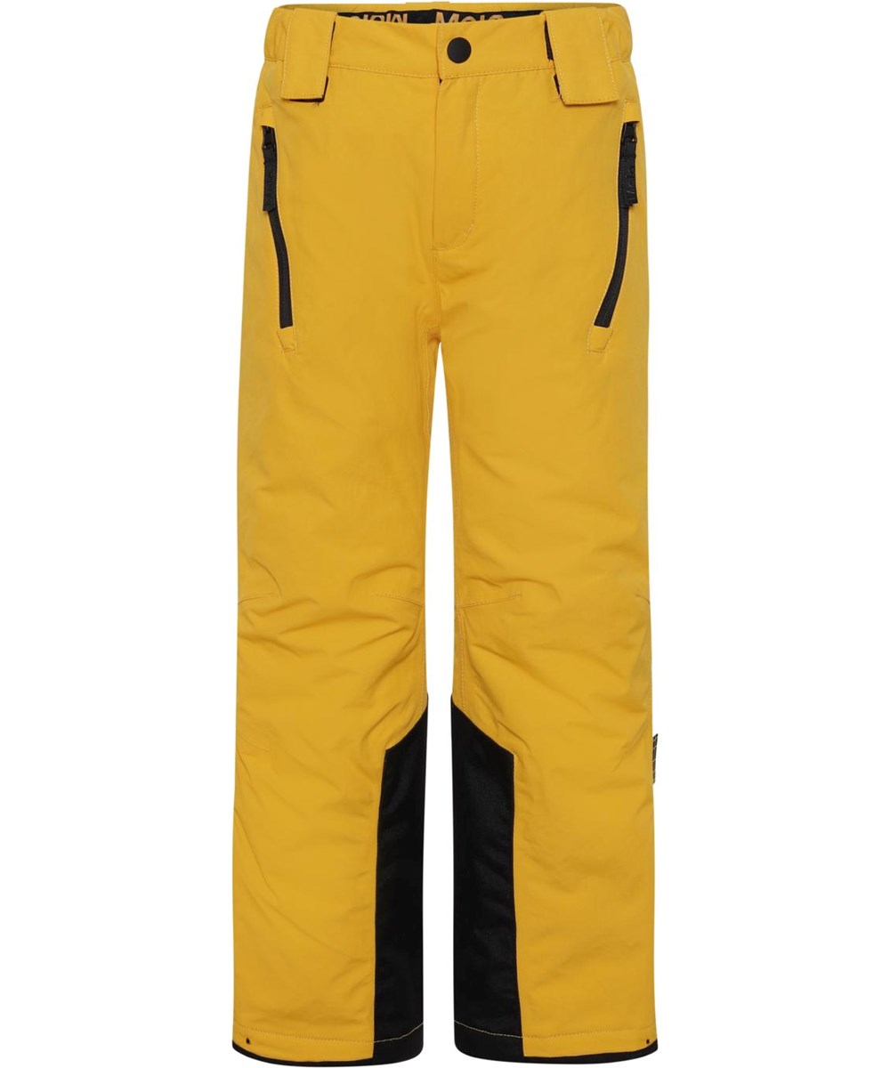 Jump Pro - Fire - Recycled ski trousers in yellow