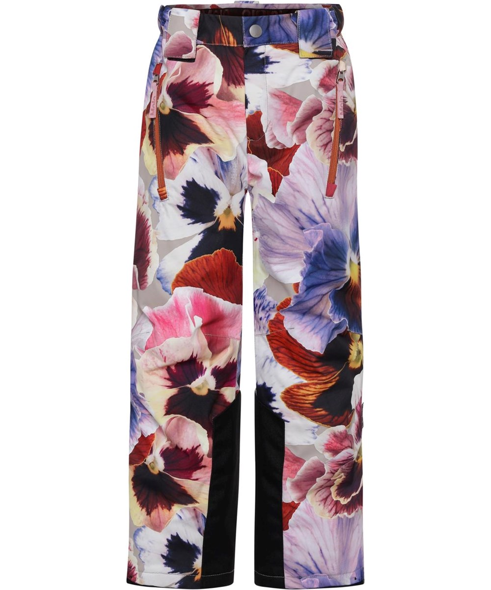 Jump Pro - Giant Floral - Recycled ski trousers with flower print