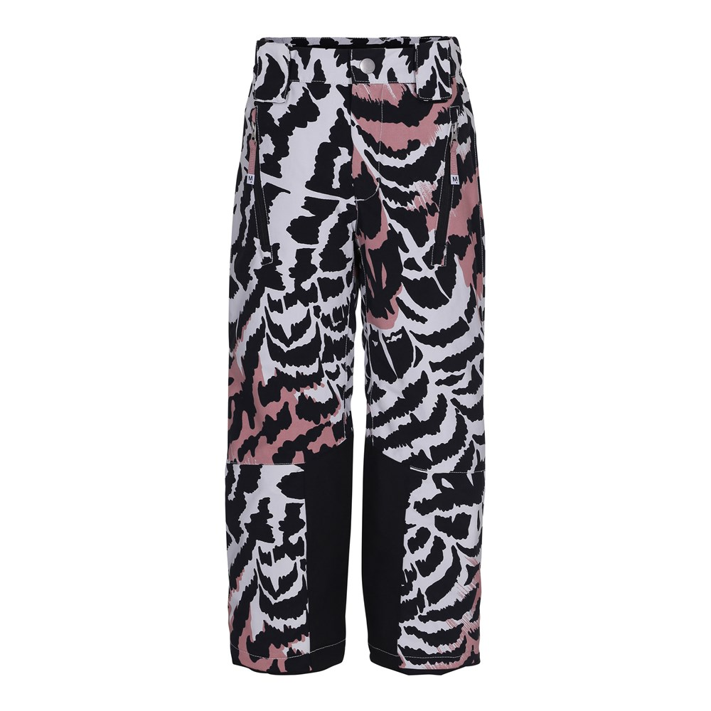 Jump pro - Graphic Feathers - Functional ski with fleece lining and digital graphic feather print