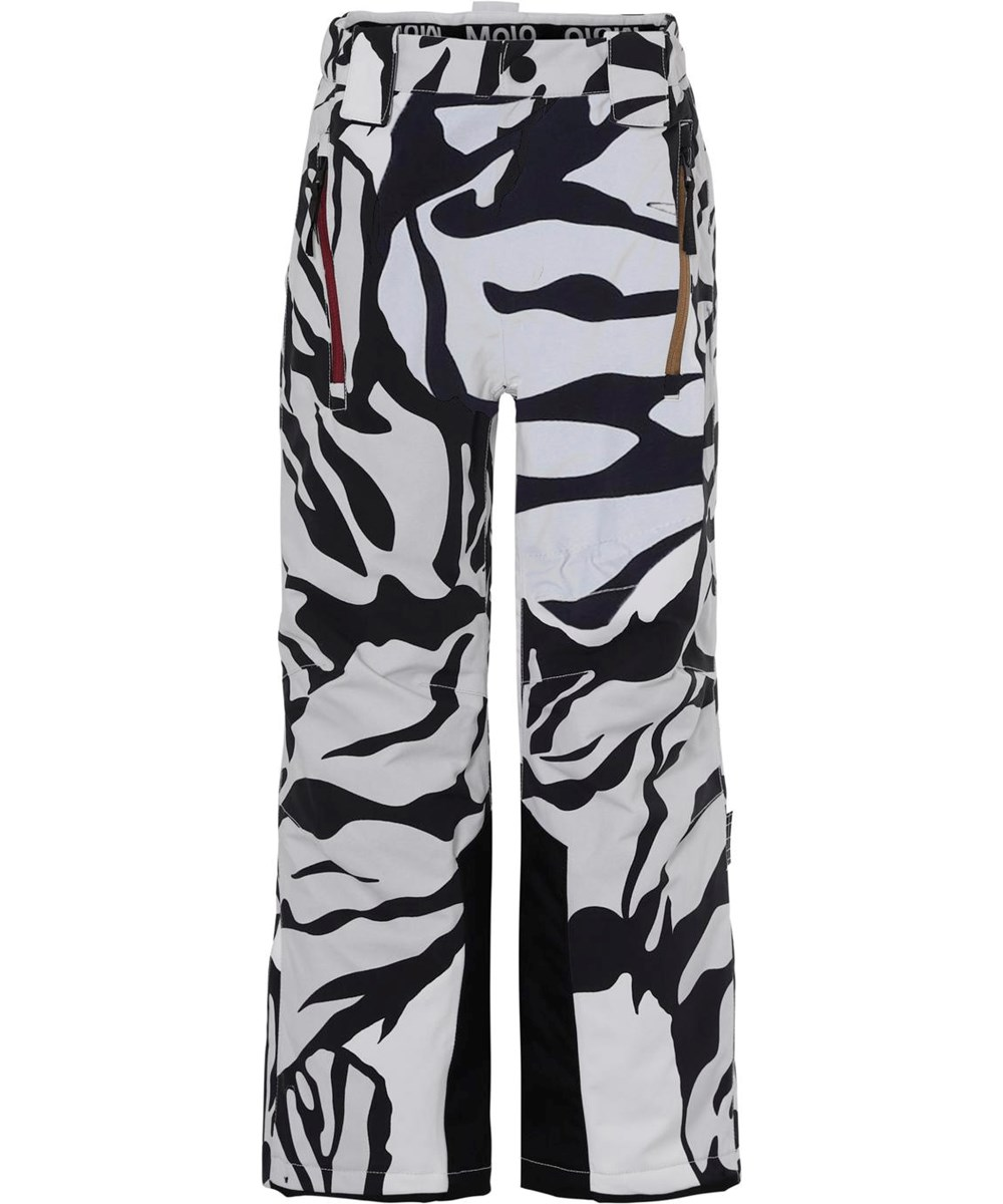 Jump pro - Graphic Tiger - Waterproof ski trousers in tiger print