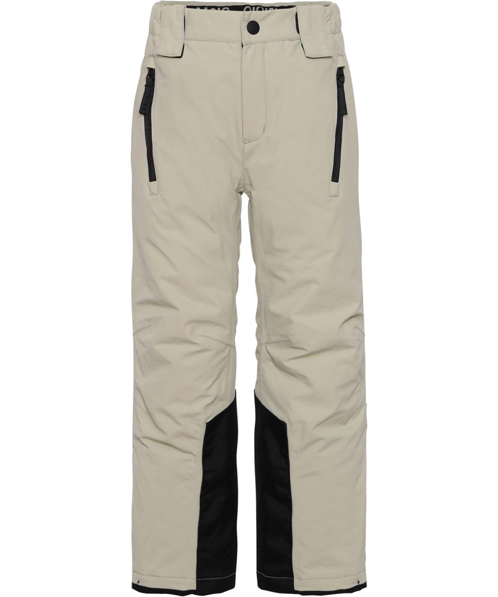 Jump Pro - Moon Sand - Recycled ski trousers in beige