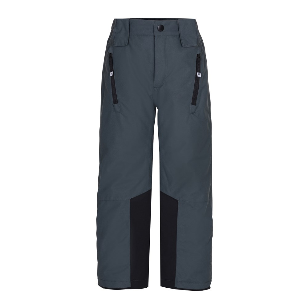 Jump pro - Pigment Teal - Grey, functional ski trousers with fleece lining