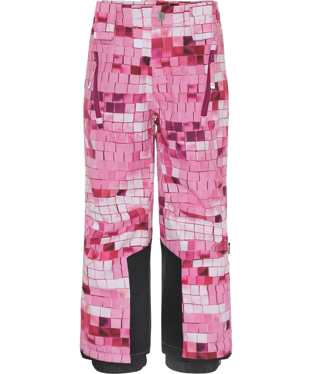 Jump Pro - Pink Disco - Ski trousers with pink print.