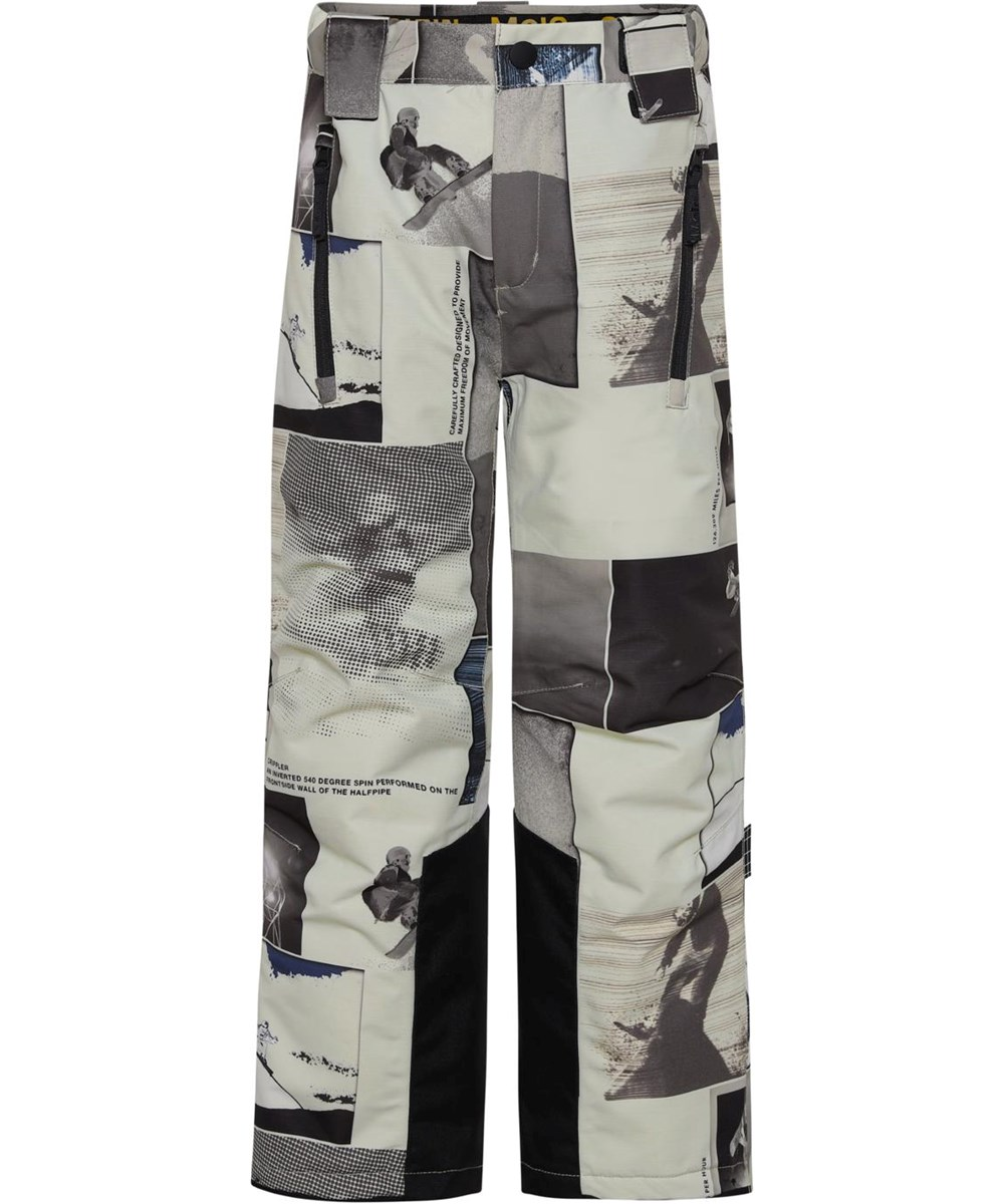 Jump Pro - Screenshot - Recycled ski trousers with snowboarder print