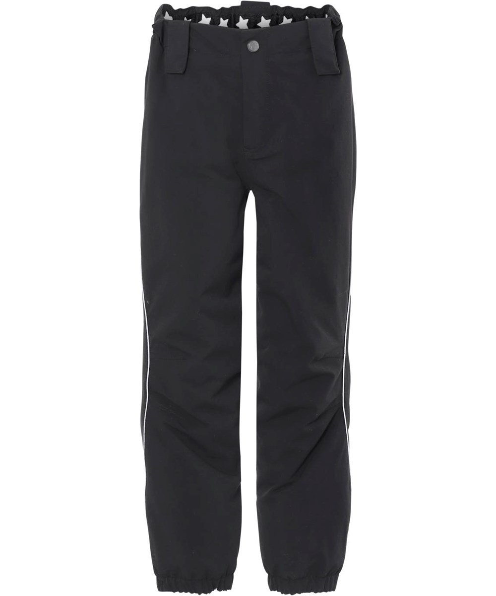 Pollux Active - Black - Black waterproof ski trousers