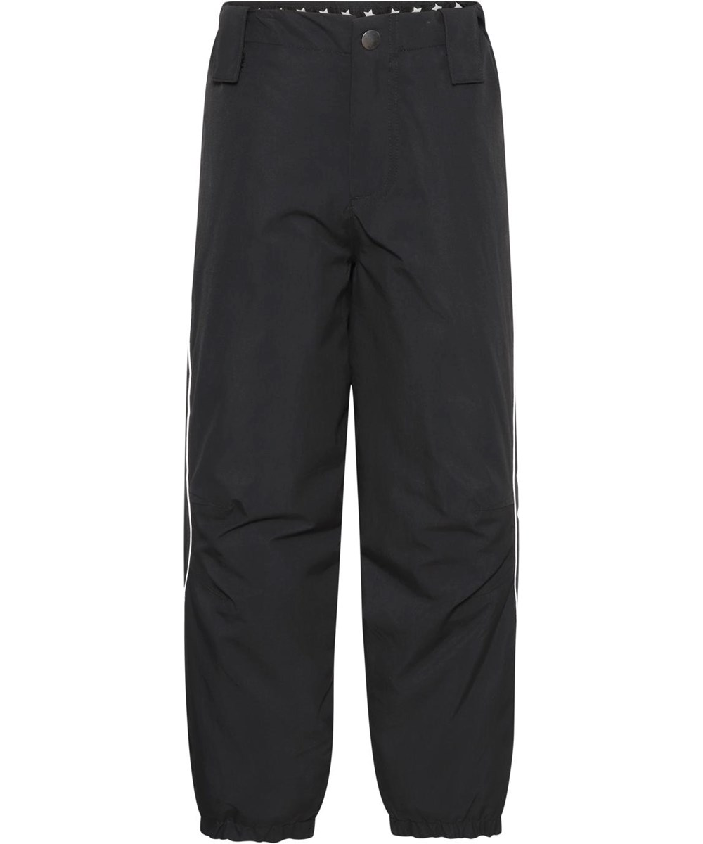 Pollux Active - Black - Waterproof and lined ski trousers in black