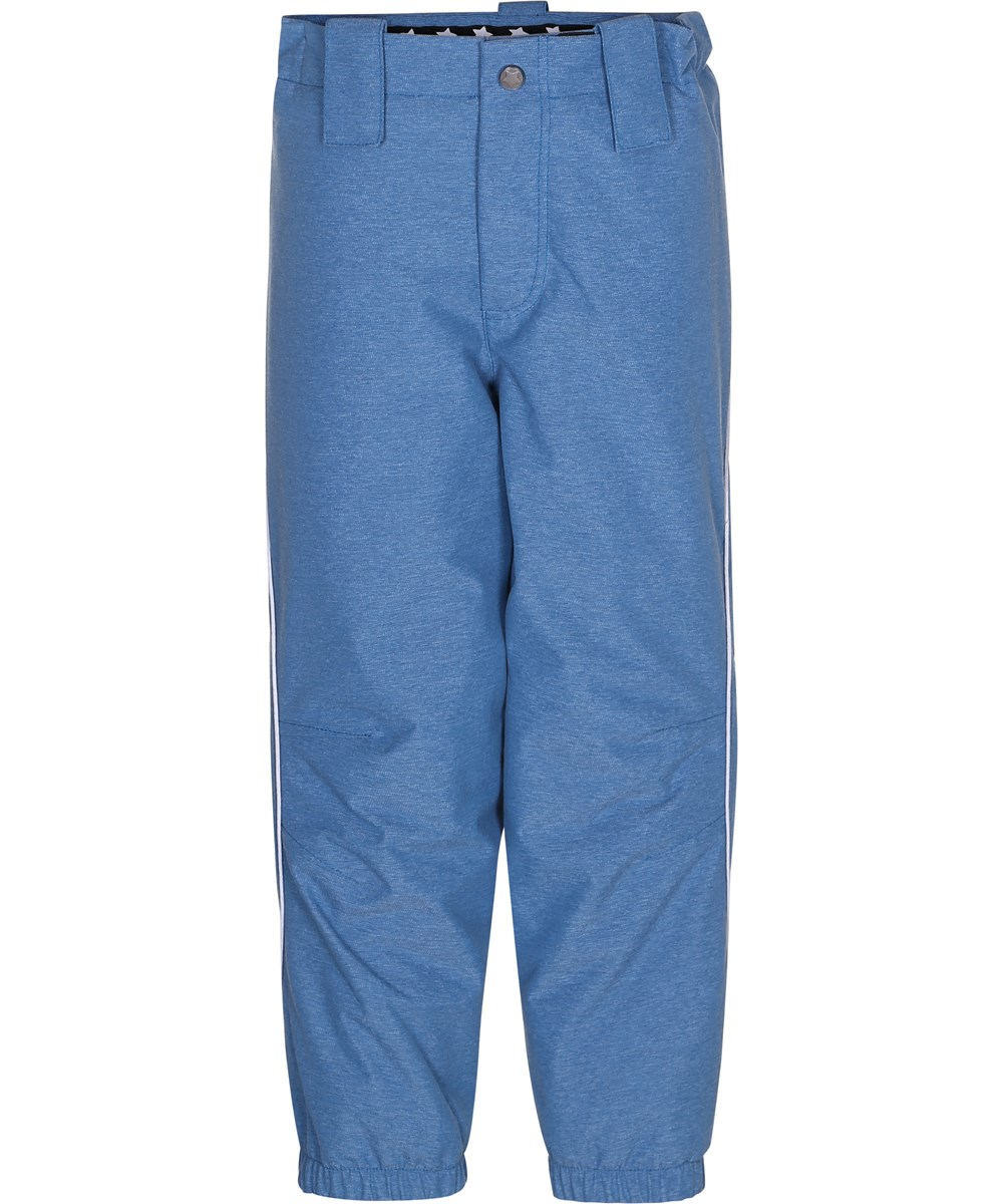 Pollux Active - Blue Mountain - Blue ski trousers with reflectors