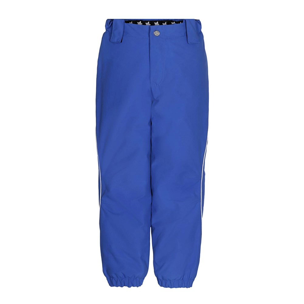Pollux Active - Real Blue - Functional, lined, blue ski trousers