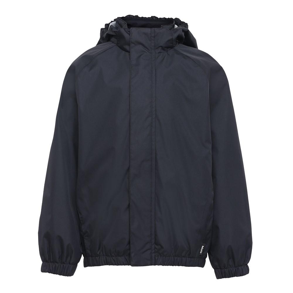 Waiton - Black - Rain Jacket
