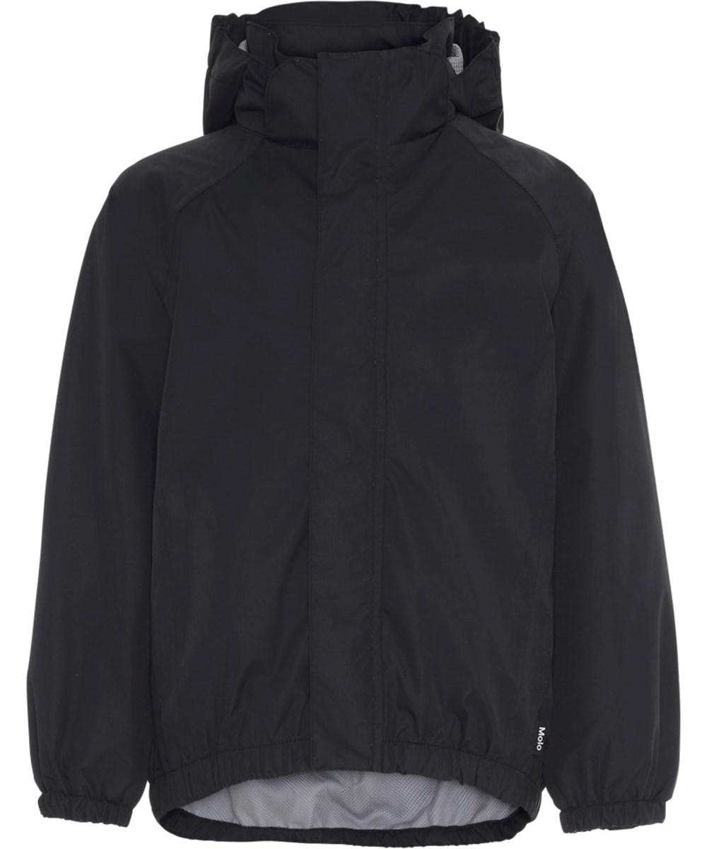 Waiton - Black - Black rain jacket